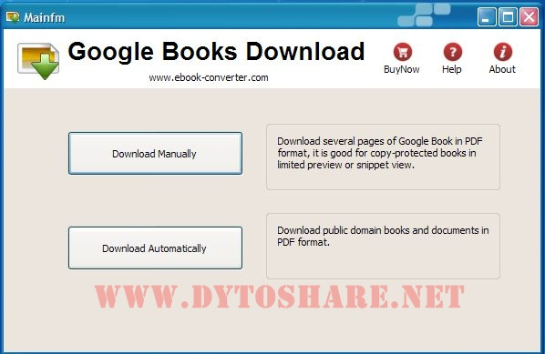 Transfer books from Google Play to your e-Reader