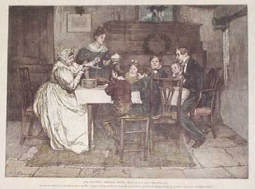 the cratchit family and how they In the story, the cratchit's – the family of ebenezer scrooge's clerk, bob cratchit –  delight in the christmas day meal that they share – complete.