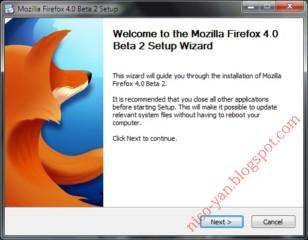 Installing Firefox 4 Beta