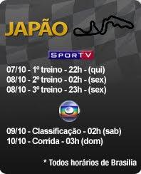 Proxima corrida de Fórmula 1