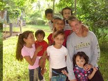 My kids in Armenia