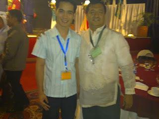 with Prof. Leo Jurado of PNAA