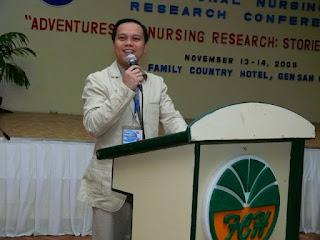 Prof. Neil Martin from Liceo de Cagayan University