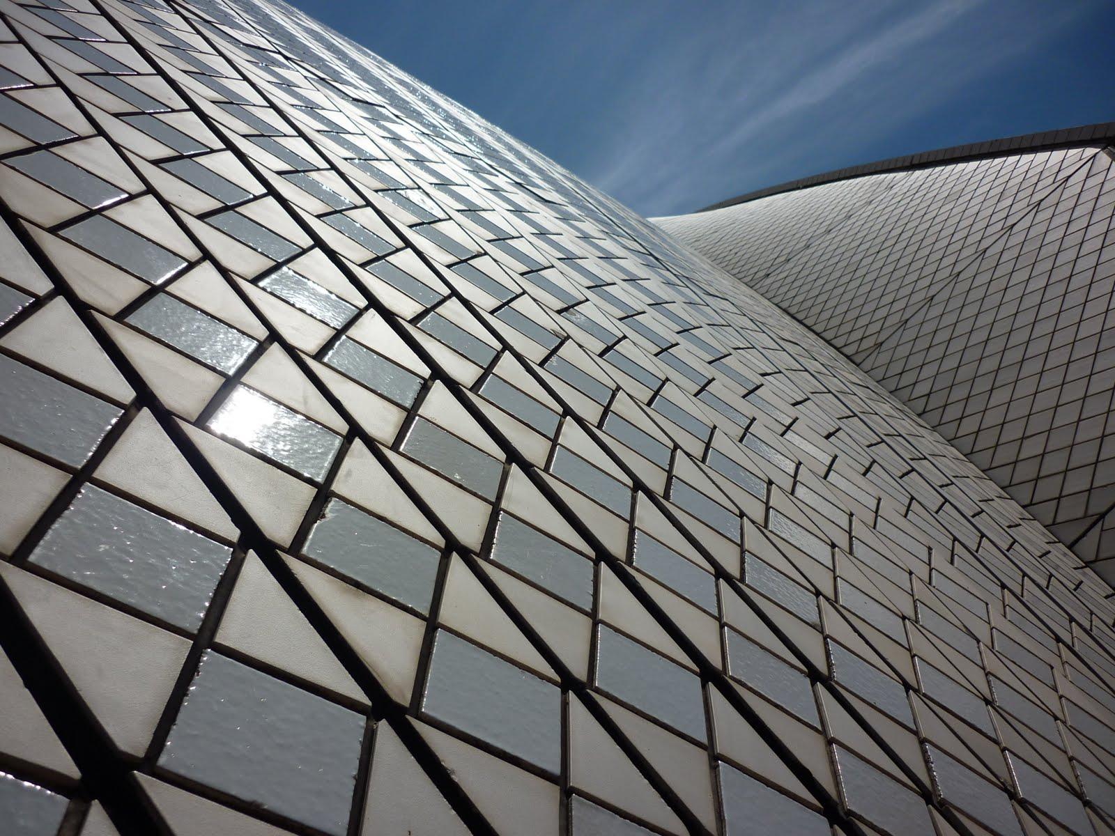 Sydney Australia Sydney Opera House Tiles