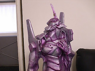 Orme Magiche Evangelion Eva 01 Scultura in creta