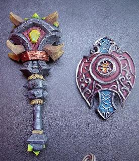 orme magiche scultore modellismo world of warcraft armi modellini personalizzati