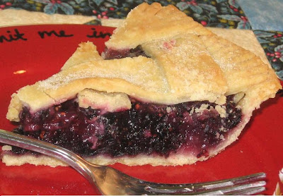 recipes: bringing in july with mulberry pie!