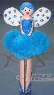 making dolls: fairy peg dolls