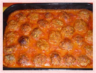 тефтели в духовке в томатном соусе рецепт с фото