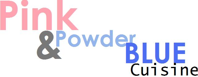 Pink &amp; Powder Blue Cusine
