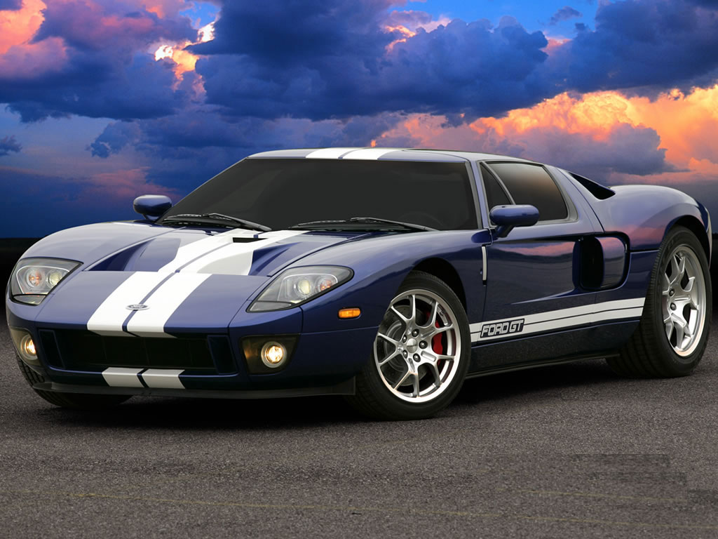 All cars 4 u  ford gt sports cars wallpaper 2010