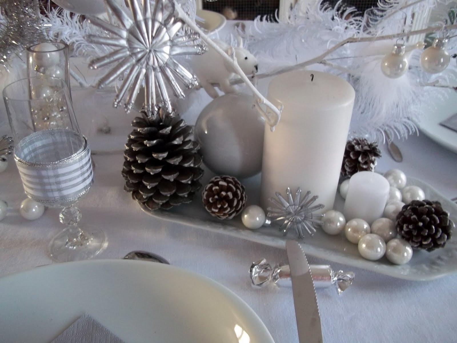 #566275 Lylou.Anne Collection: Défi Noël Blanc Et Acte 1 6179 decoration de table de noel en blanc 1600x1200 px @ aertt.com