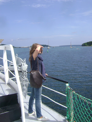 This is me in Lunenburg, NS, searching the horizon for my good old self.