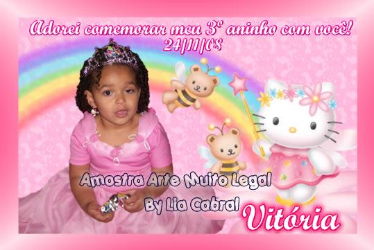 27-Convites Infantis personalizados e lembrancinhas de aniversário Arte muito legal