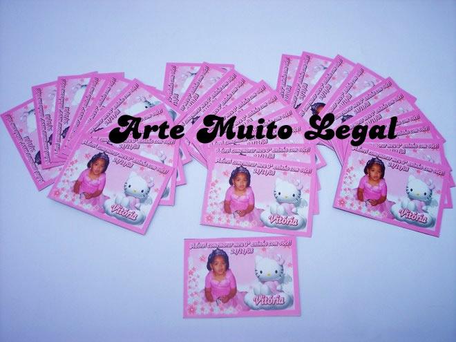 Arte Muito Legal - Convites infantis e lembrancinhas