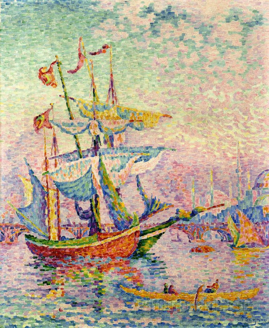 Neo Impressionism Artists: Style Yes: Paintings By Paul Signac