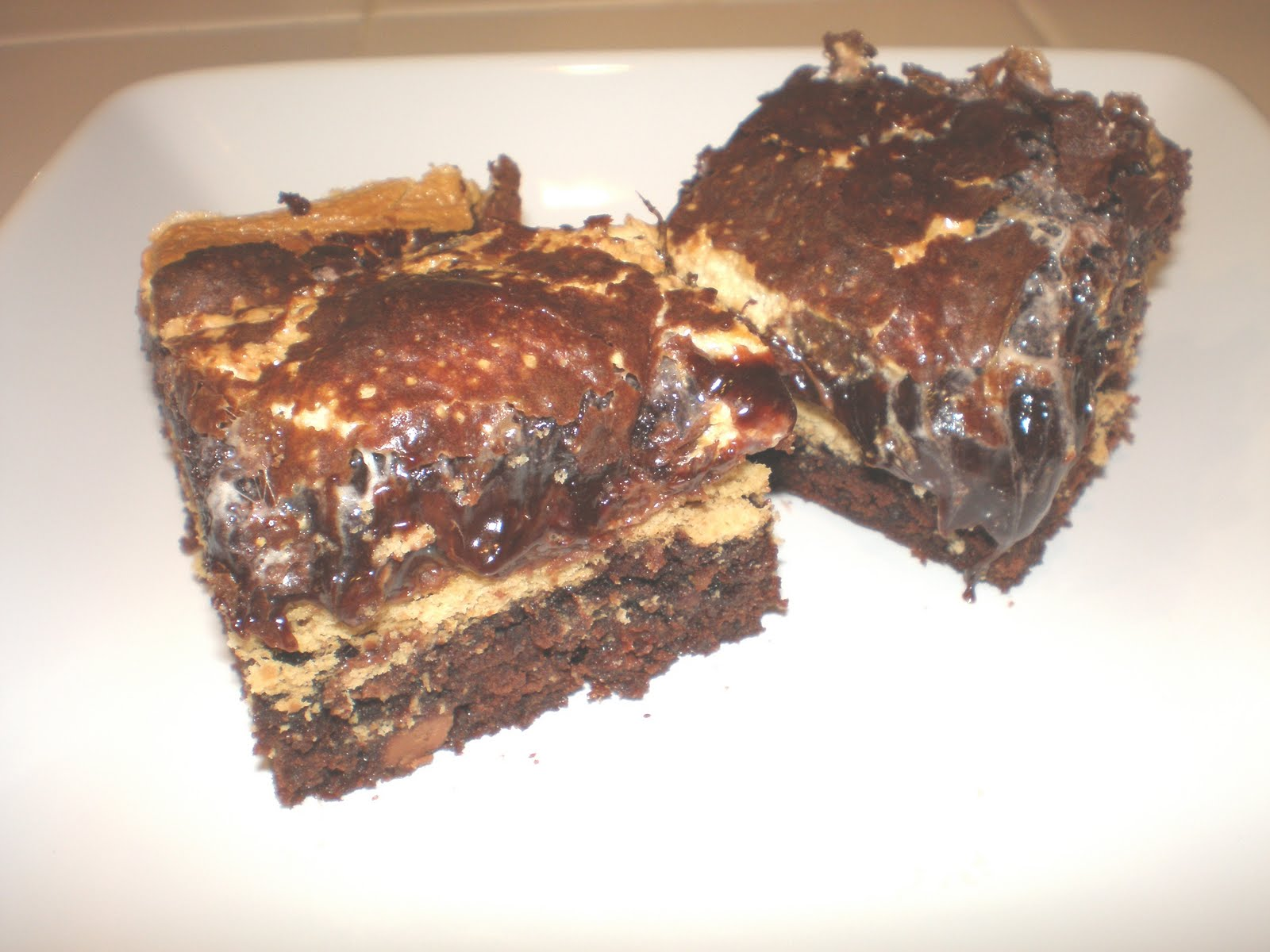 Mores Stuffed Brownies - Making Memories With Your Kids