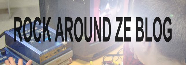 Rock around ze blog