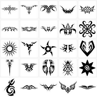 Simple Tattoos On Millenium Designs Tribal Tattoo Symbols Design