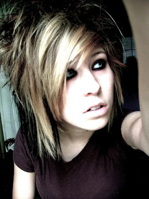 emo hairstyles for girls with short hair and bangs. short hairstyles for girls