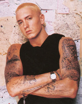 Tattoo Designs Resource Eminem Tattoos Eminem is a top rock star and how can