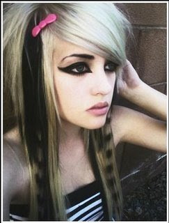 Scene Girls Hairstyles
