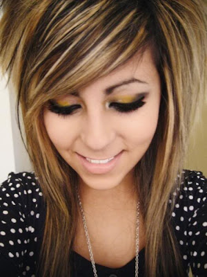 everyday hairstyles for medium length hair. Medium Length Scene Girls Hair