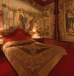 Torre Principal - habitaciones del señor aro. Dormitorio_duques