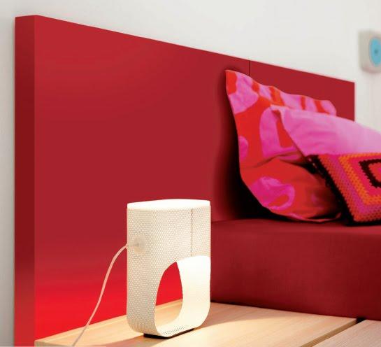 Dormitorios juveniles minimalistas en rojo recamaras - Dormitorios blanco y negro ...