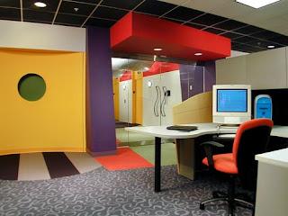 Que color deberia pintar la oficina colores para el for Oficina de orange