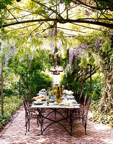 Pergolas terrazas y jardines fotos de jardines - Pergola de jardin ...