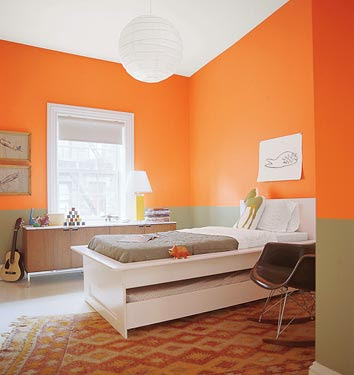 interior design schools: ORANGE ORANGE BEDROOMS BEDROOMS