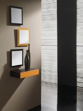 Fachadas de casas y casas por dentro mobiliario de - Ideas para decorar una entrada de casa ...