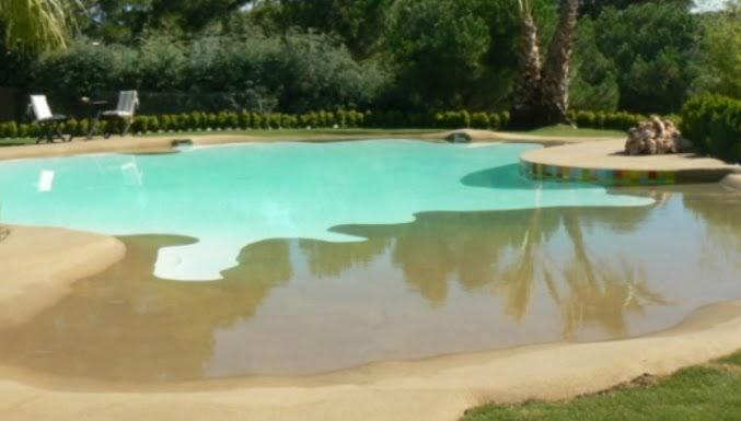 Piscinas de arena piscinas y albercas fotos de piscinas for Como construir una piscina en chile