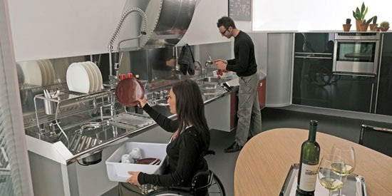Cocina para discapacitados cocina y reposteros for Cocinas italianas equipadas
