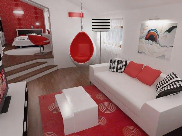 El dise o de dormitorio 3d es de una empresa en rumania llamada designdeinterior - Decoracion cuarto de estar ...