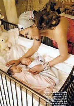 Dormitorio de gemelos de jennifer lopez y marc anthony - Habitaciones para bebes gemelos ...