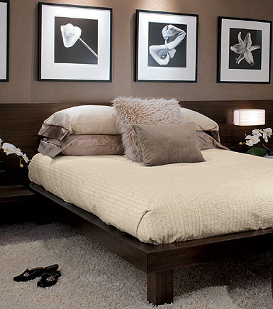 Dormitorio chocolate video candice olson bedroom via www - Idee deco chambre adulte taupe ...
