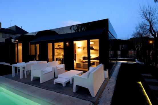 Terrazas minimalistas terrazas y jardines fotos de jardines for Modelo de casa con terraza