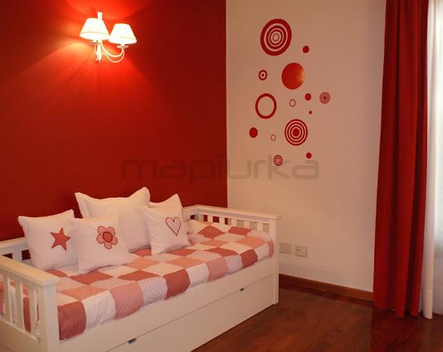 Murales vinilos adhesivos pegatinas para dormitorios for Viniles para recamaras