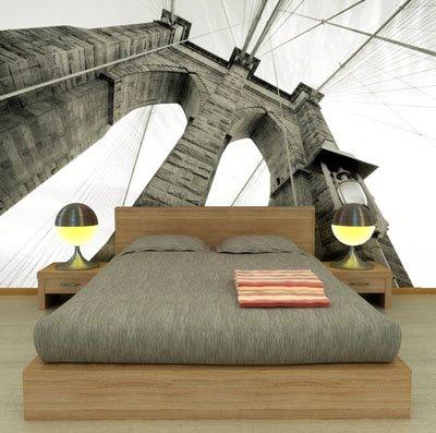Habitaciones empapeladas y decoracion de dormitorios con - Decorar con fotomurales ...