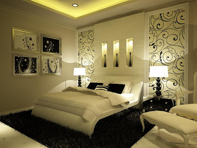 Dormitorio matrimonial crema o blanco hueso master for Matrimonial bedroom design
