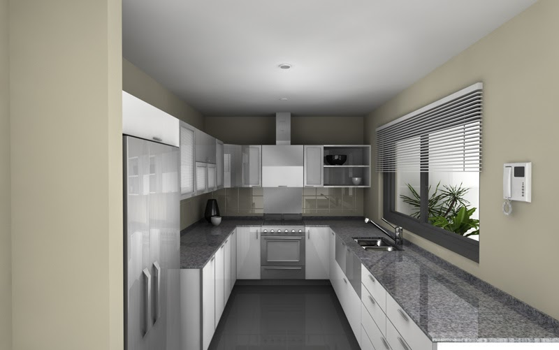Fotos de reposteros para cocinas modernas cocina y for Cocinas gris con blanco