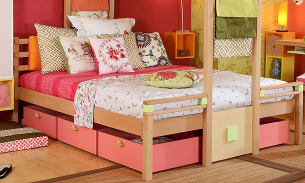 Infantiles nia decoracion top perfect free awesome for Cama japonesa ikea