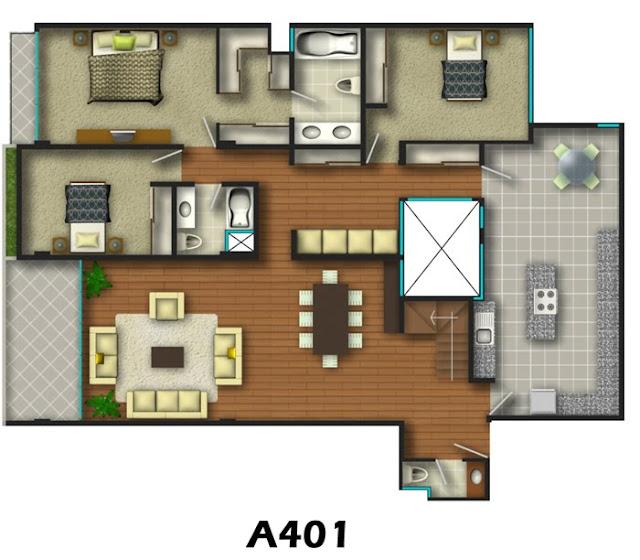 Planos de casas gratis y departamentos en venta planos de for Programas diseno banos 3d gratis