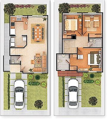 Planos de casas gratis y departamentos en venta plano de for Planos de casas 6x20