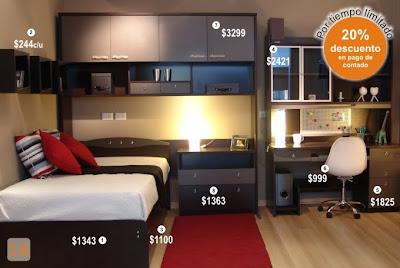 Qu les parece - Los mejores dormitorios juveniles ...