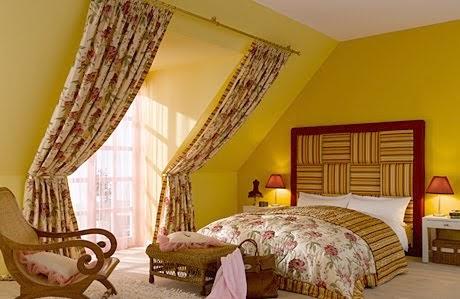 Decoraci n de dormitorios dormitorio amarillo for Decoracion de alcobas