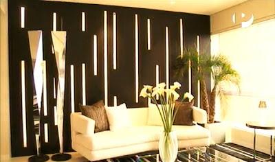 Sala moderna elegante y lujosa con amplio comedor video - Decoracion de comedores y salas ...