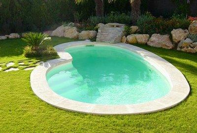 Como pintar una piscina o alberca piscinas y albercas Piscinas de arena baratas